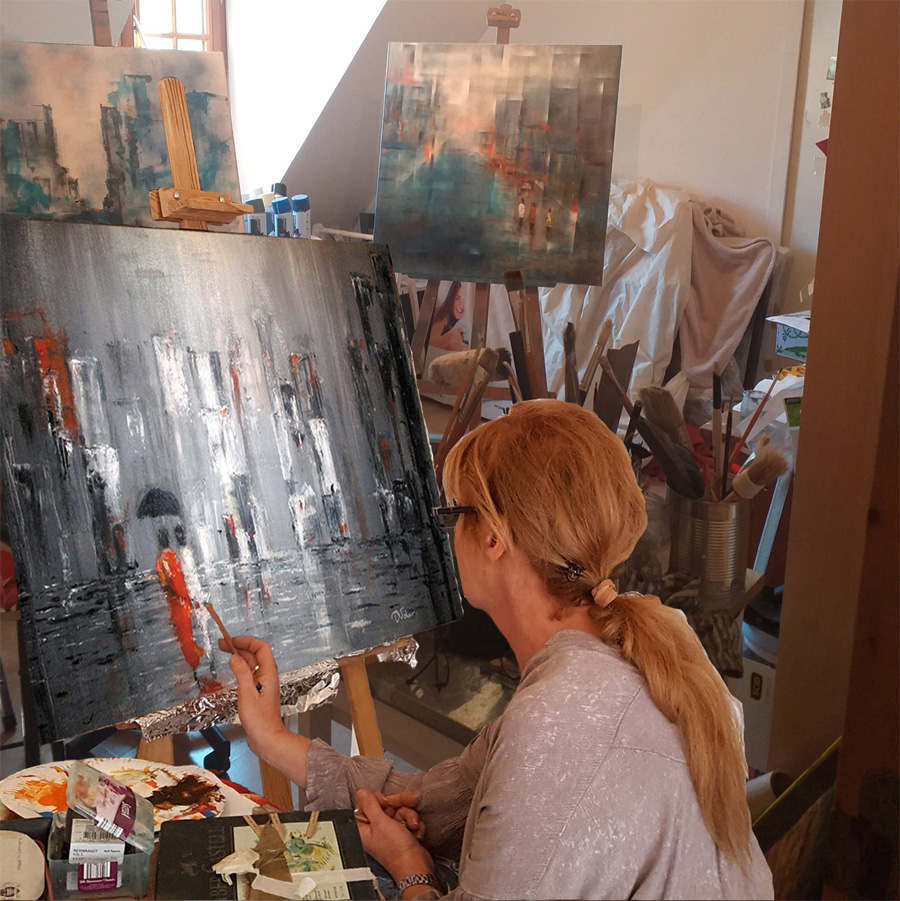 ANITA VOLOIR Peintre