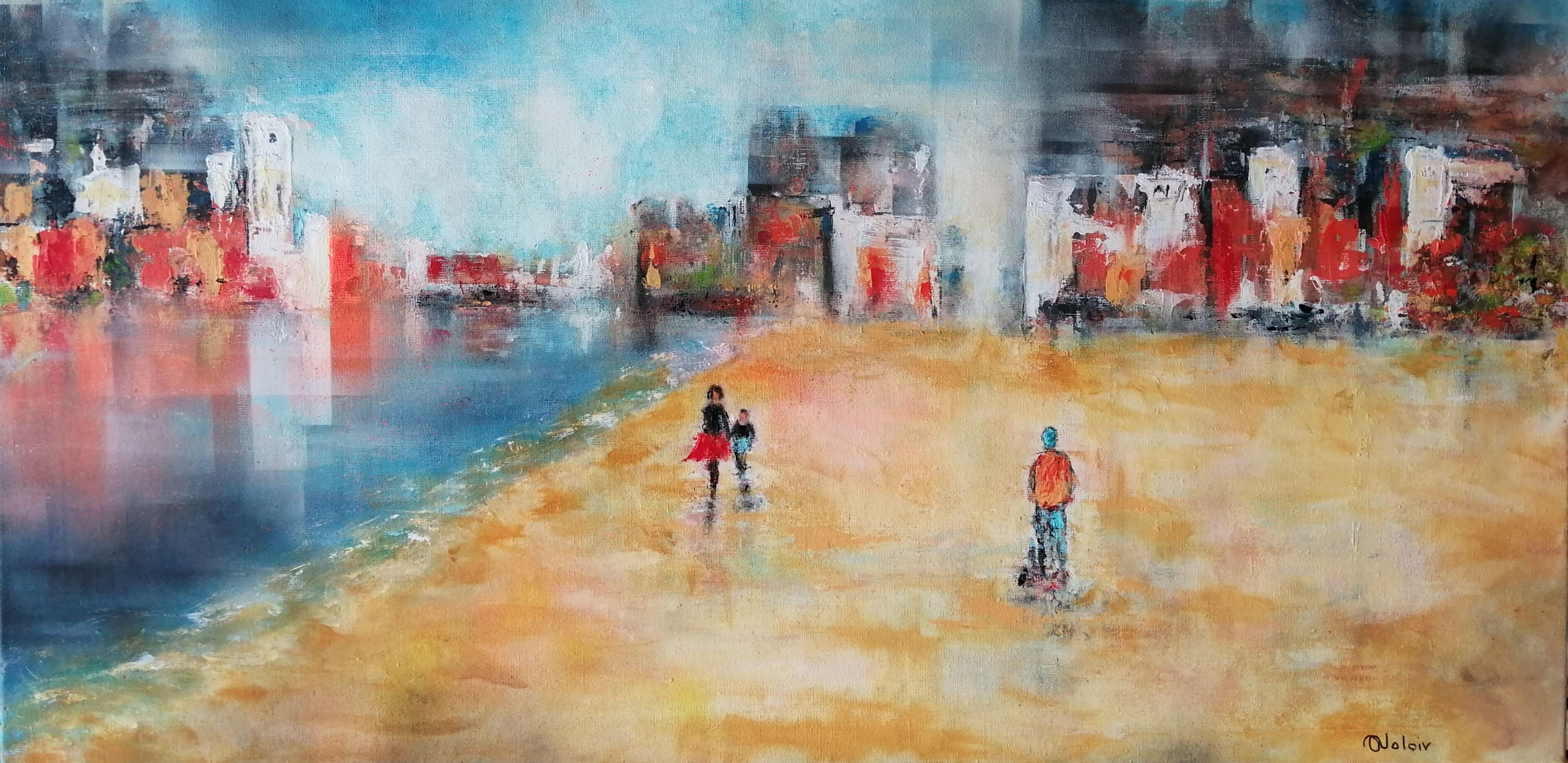 ANITA-VOLOIR-_Sable_dor_100x50_acrylique